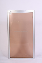 economical and hole sale aluminium frame wine cooler tinted glass door