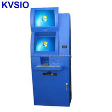 Self service bill payment dual screen Kiosk manufacturer in china KVSIO