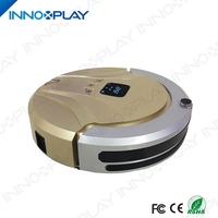 2017 Newest Design Intelligent Gyro Navigation Automatic 1000Pa Attraction Low Noise Robot Vacuum Cleaner
