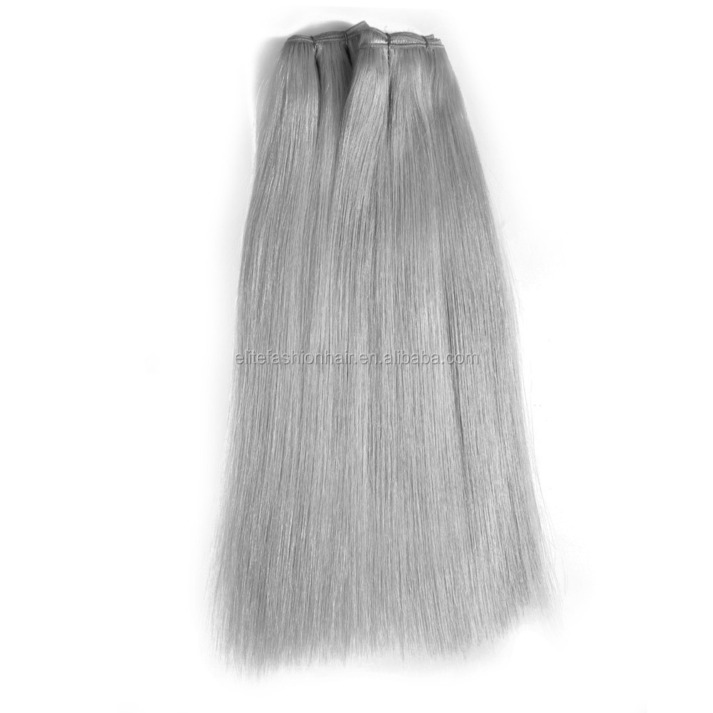 Factory Wholesale Machine Hair Weft 100% Unprocessed Virgin Brazilian Human Hair Weaving