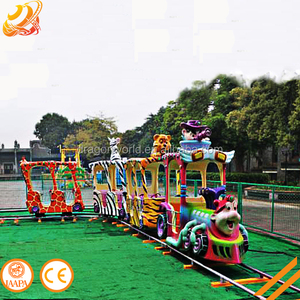 Good after sales service used amusement park equipment kids ride on train electric mini train for sale