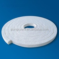 100% Pure PTFE Gland Packing With Oil FOR MARINE PUMPS VALVES SEALS