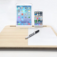 Natural Bamboo Laptop Stand Holder Laptop