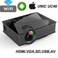 UNIC UC46 WIFI mini projector hdmi 1200 lumen 1080p