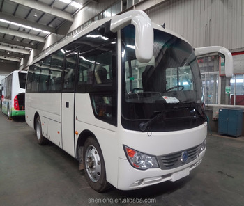 2017 Used 25 seats mini bus SLK6750