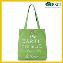 promotional gift vegetable recycled fabric shopping bag manufacturer