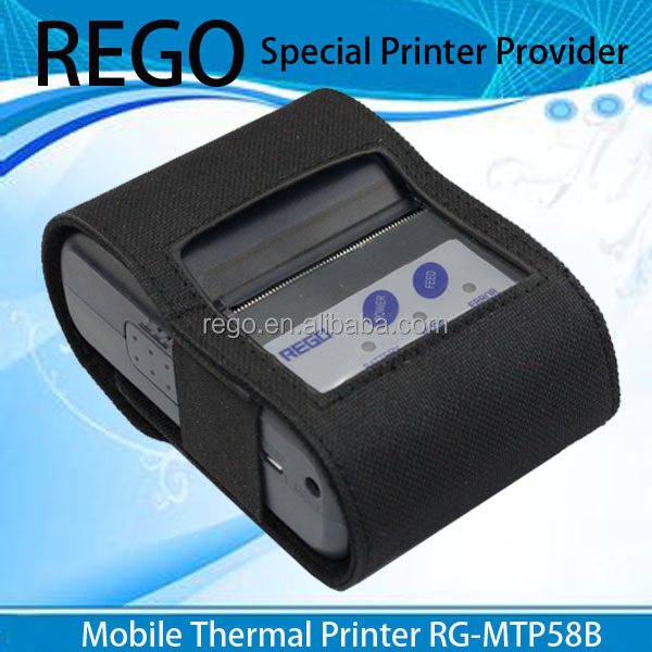 REGO sdk free offered mini handheld bluetooth android thermal printer RG-MTP58B