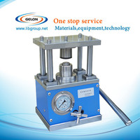 Manual Hydraulic button cell crimping machine for 20XX button cells sealing process
