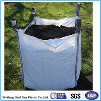 Pp Jumbo Bag/pp Big Bag/ton Bag (for Sand,Building Material,Chemical,Fertilizer,Flour,Sugar Etc), China