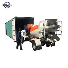 Factory Price Small Truck Cement Mixer 1.5 M3 Truck Concrete Mixer
