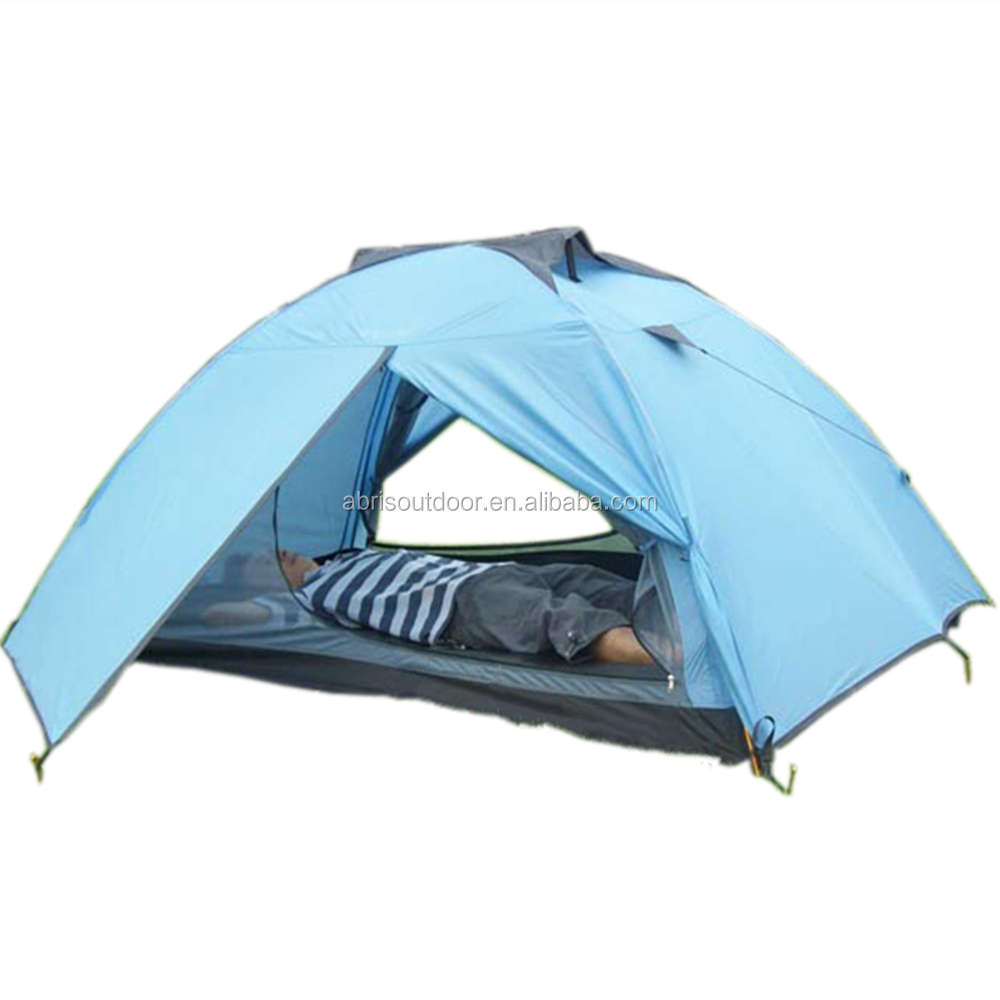 Outdoor 2 Person Double Layer Ultra Light Camping Tent