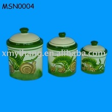 kitchen pottery food container