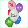 12 inches advertising latex balloons