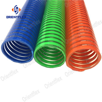 China Flexible PVC helix water pump suction hose