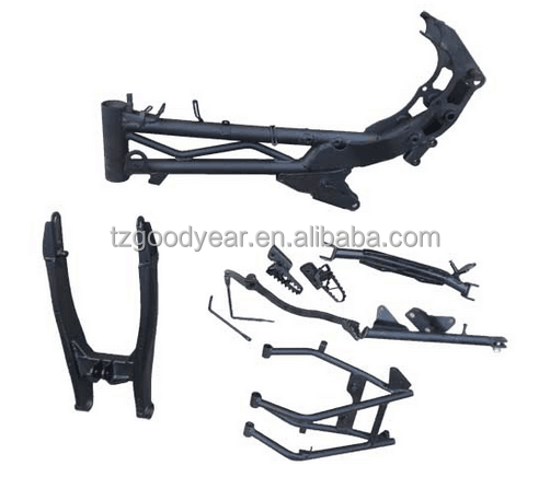 motorcycle body kits 2016 new designe with high welding quality of mortorcycle frame assy