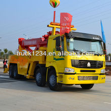 2015 New HOWO 8X4 Rotator Recovery Truck For Sale