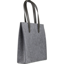 Women wool felted fabric shopping bags for sale