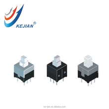 Kejian PS8501 push button series 8.5*8.5 6 pin push switch