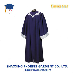 fluting Wholesale adult Matte church Choir Robes with made in china