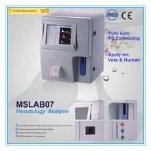 Medical Full Auto Hematology Analyzer MSLAB07A of Advanced Quality Grade and CE ISO Certificates