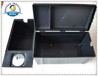 Moulded injection plastic case for storage