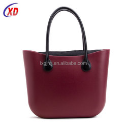 2016 Trending fashionable women felt tote bag from China supplier