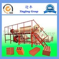 Green Red Soil Brick Making Automatic Clay Brick Manufacturing Plant