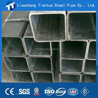 china supplier cold rolled Q235 rectangular/square carbon steel pipe/ tube