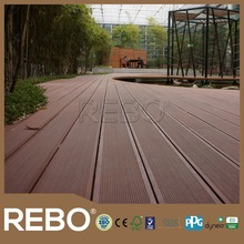 Best quality eco forestoutydoor bamboo smooth surface composite decking