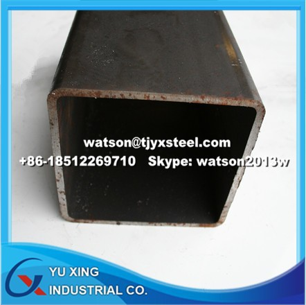 SHS Steel/ Square Hollow Section/ Square Steel Pipe-DIN EN 10219/ASTMA500/GB/T 3094-Full Sizes- Q195-345/S235JR-355JRH/ASTMA106