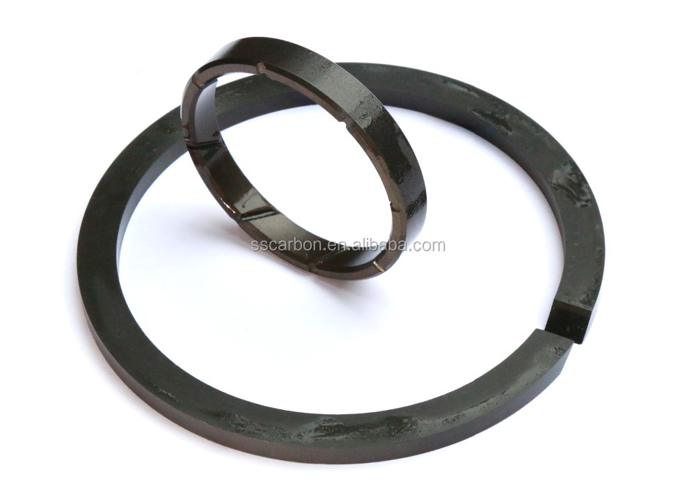 High quality and low price graphite antimony impregnated seal rings