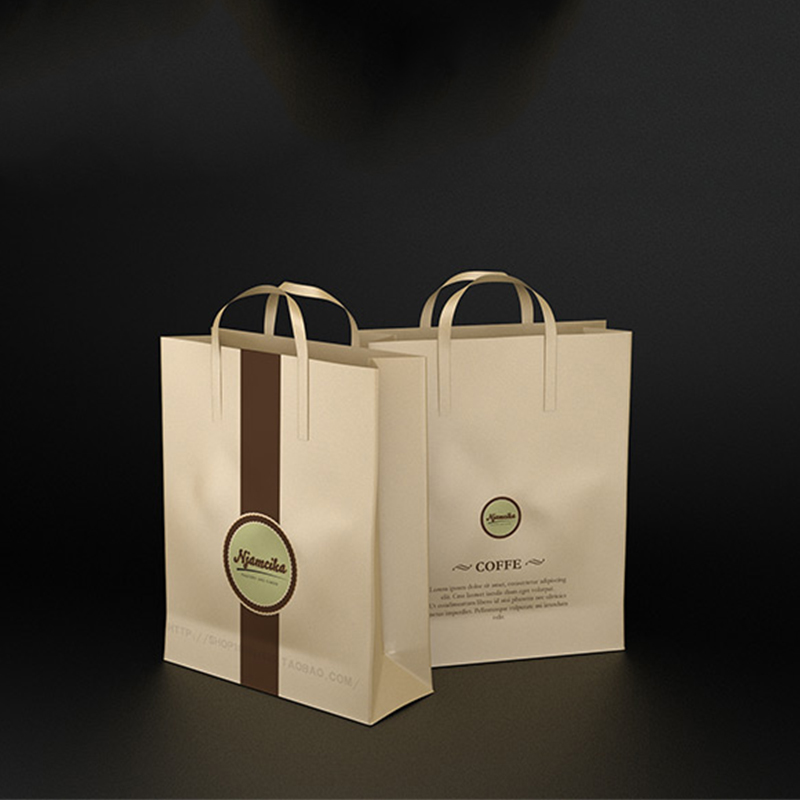 Custom luxury matte colored paper shopping carry bags with logo print wholesale