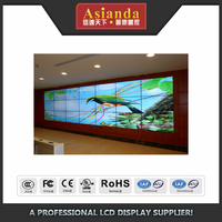 Asianda Full HD super narrow bezel indoor LCD TV wall
