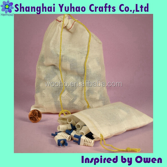 Custom industrial Parts packaging Cotton Bags