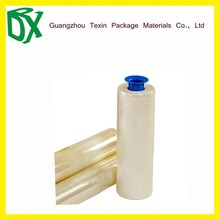 PE plastic heat shrink wrapping film roll and bagging film for goods packing