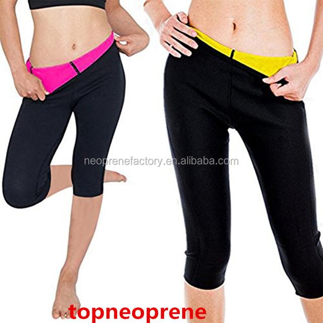 Neoprene Running Compression Body Shaper Burning Fat Slimming Pants