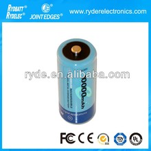 Ni-MH D 10000mAh Rechargeable Battery Cell