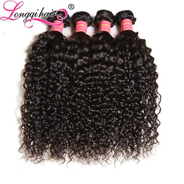 Peruvian human hair wet and wavy weave 100% virgin hair jerry curl