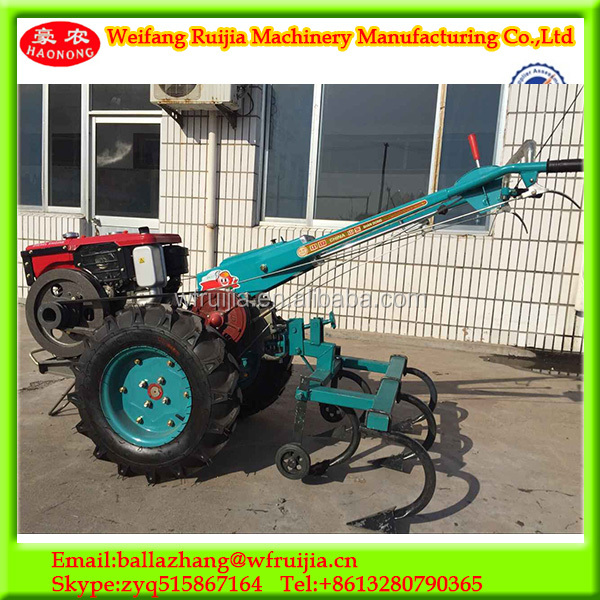 To Two Wheel Tractor Rototiller : Agriculture machinery two wheel tractor with hoe