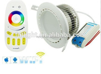2.4G wireless 4-zone remote Cool White Color Temperature(CCT) and Downlights Item Type LED RGB Down Light
