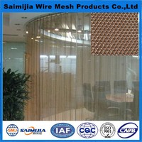 Super quality classical 6mm mesh metallic cloth curtain drapery
