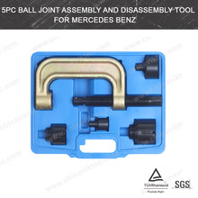 Auto Tools 5pc Ball Joint Assembly and Disassembly Separator Tool Set for Benz(VT01688)