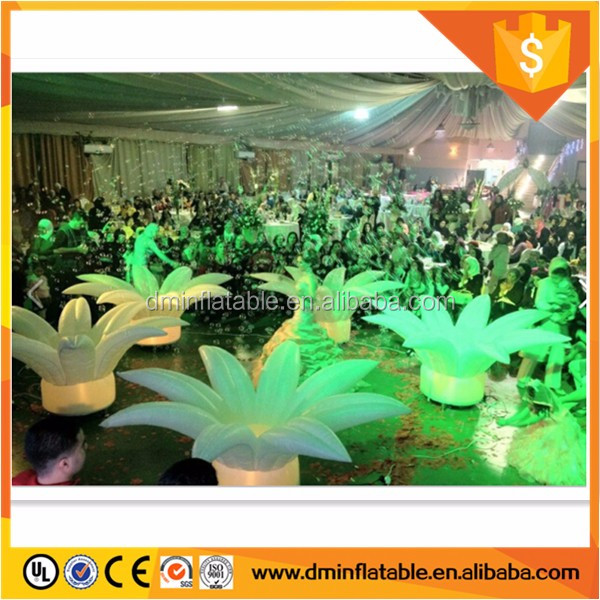 inflatable flower wedding for stage decoration
