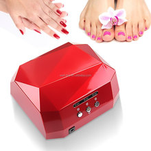 2016 Guangzhou Manufacturer best selling UV machine 36w led Uv lamp gel nail polish dryer for nails
