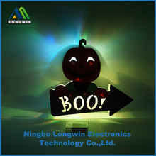 paper pumpkin LED night light for halloween party decoration