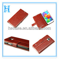 new stylish leather case cover for Samsung cellphone case for galaxy s5 i9600 protective shells