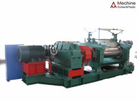 Rubber machine two roll mixing mill