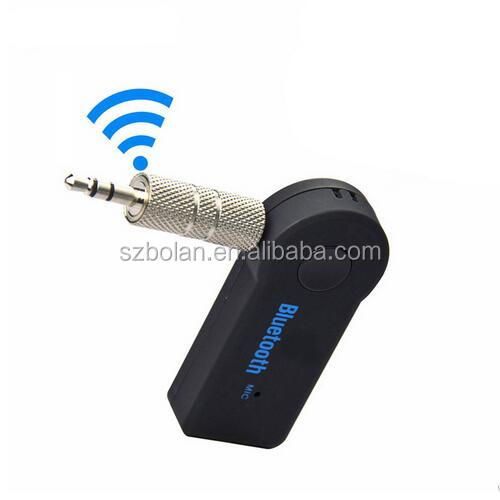Universal Phone Speaker Bluetooth 4.0 Car Bluetooth Receiver Speakerphone Handsfree Bluetooth Adapter 3.5mm for Phone Tablet