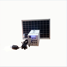 20W Portable home solar power generation system solar energy system, mobile charger, battery bank for home use