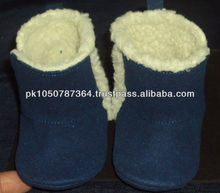 Fur leather Baby Shoes